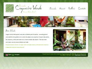 Thumbnail do site Pousada Coqueiro Verde