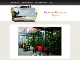 Thumbnail do site Pousada O Canto da Sereia
