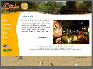 Thumbnail do site Pousada Portal da Concha