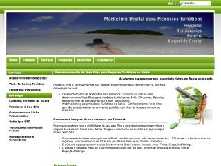 Thumbnail do site Web Marketing Bahia