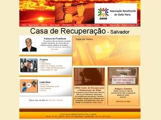 Thumbnail do site Casa de Recuperação e Ressocialização