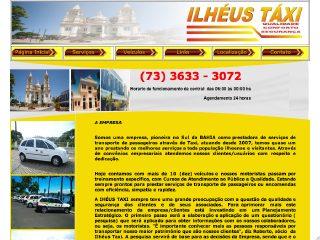 Thumbnail do site Taxi em Ilheus