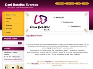 Thumbnail do site Dani Botelho Eventos