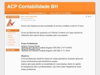Thumbnail do site ACP Contabilidade