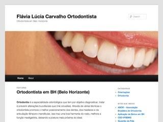 Thumbnail do site Flávia Lúcia Carvalho - Ortodontista