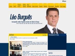 Thumbnail do site Léo Burguês - Presidente Câmara Municipal Belo Horizonte