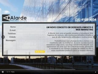 Thumbnail do site Alarde Agencia Web