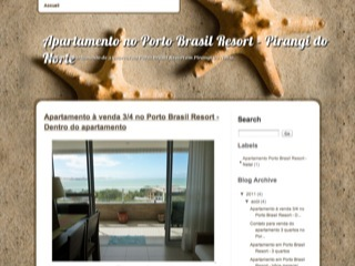 Thumbnail do site Apartamento à venda no Porto Brasil Resort