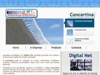 Thumbnail do site Digital Net - Concertina