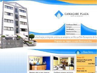 Thumbnail do site Camaçari Plaza