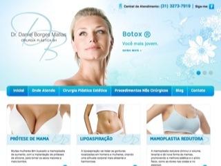 Thumbnail do site Dr Daniel Borges Matias - Cirurgia Plastica BH
