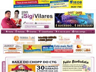 Thumbnail do site Blog do Sigi Vilares