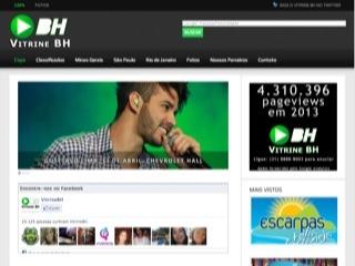 Thumbnail do site Vitrine BH - Festa, Show, Balada em BH