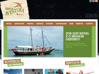 Thumbnail do site Tempo de Aventura Viagens