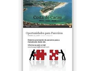 Thumbnail do site Costa do Cacau