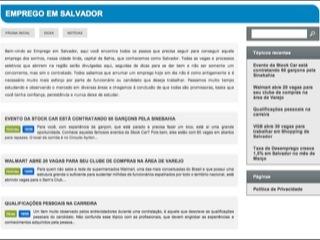 Thumbnail do site Emprego em Salvador