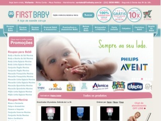 Thumbnail do site First Baby - A loja da Mamãe Coruja!