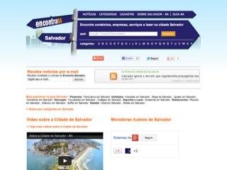 Thumbnail do site Encontra Salvador