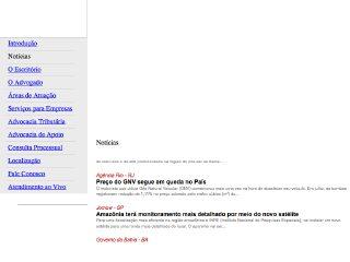 Thumbnail do site Lorenz Advocacia