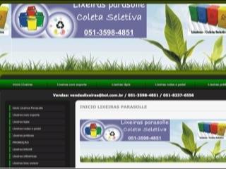 Thumbnail do site Lixeiras Seletivas Parasolle