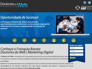 Thumbnail do site Doutores da Web - agência de Comunicação