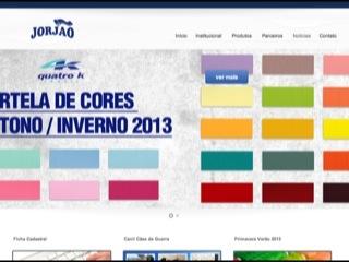 Thumbnail do site Jorjão - Representante têxtil