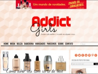 Thumbnail do site Addict Girls