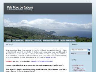 Thumbnail do site Fala Povo de Itabuna!