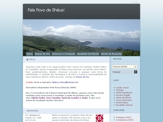 Thumbnail do site Fala Povo de Ilhéus!