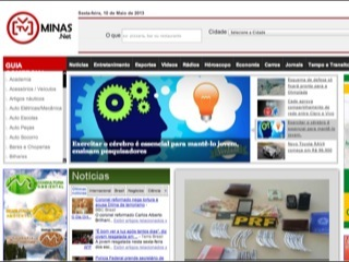 Thumbnail do site TV Minas .net