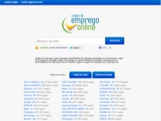 Thumbnail do site Vagas de Emprego Online