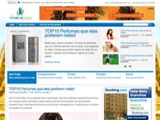 Thumbnail do site Colher de Saúde - Sua dose diária de saúde