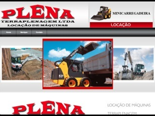 Thumbnail do site Plena Terraplenagem Ltda.