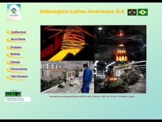 Thumbnail do site Siderúrgica Latino-Americana S.A.