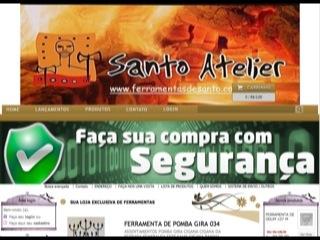 Thumbnail do site Ferramentas de Santos - Artigos Religiosos