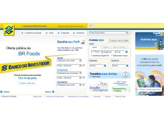 Thumbnail do site Banco do Brasil
