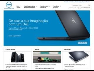 Thumbnail do site Dell Computadores do Brasil Ltda.