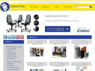 Thumbnail do site Classe A Flex - Móveis Para Escritório