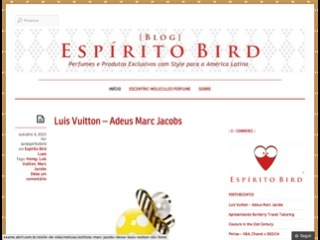 Thumbnail do site Blog Espirito Bird