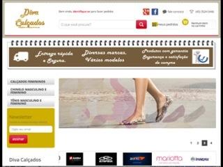 Thumbnail do site Diva Calçados