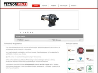 Thumbnail do site TecnonMinas Ltda