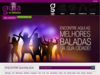 Thumbnail do site Guia de Baladas em Salvador