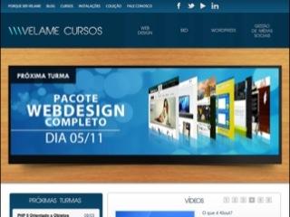 Thumbnail do site Velame Cursos