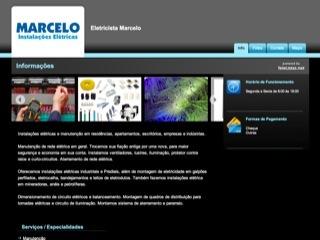 Thumbnail do site Marcelo Instalações Elétricas