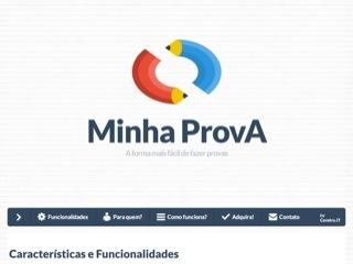 Thumbnail do site Minha Prova