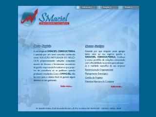 Thumbnail do site Smaciel Consultoria