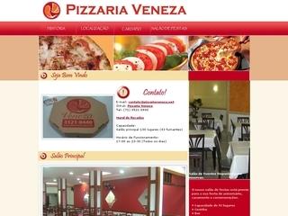 Thumbnail do site Pizzaria Veneza