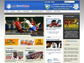 Thumbnail do site Portal Futebol Baiano