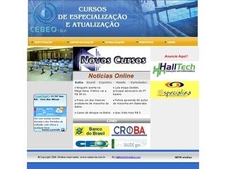 Thumbnail do site Cebeo - Centro Baiano de Estudos Odontológicos