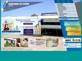 Thumbnail do site CESUPI - Centro de Ensino Superior de Ilhéus